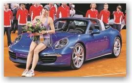 Мария Шарапова выиграла третий автомобиль подряд