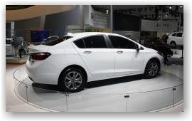 В Пекине показали новый Chevrolet Cruze