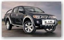 В России появился обновленный Mitsubishi L200